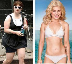 Weight loss inspiration: Kelly Osbourne