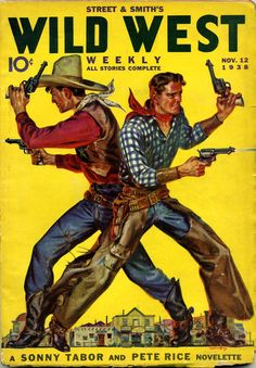 Magazine Cover: Street & Smiths Wild West Weekly, November, 1938