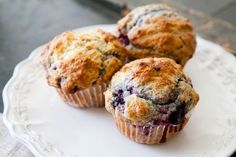 Blackberry muffin recipe - to use some of those luscious berries we picked this afternoon.  Mmmm.