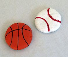 Preschool Crafts for Kids*: father's day magnets from play dough
