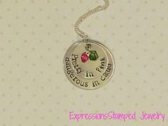 Pretty in Pink. Dangerous in Camo Necklace (Valentine's Day Gift)