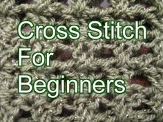Crochet Cross Stitch - Slow Motion Crochet