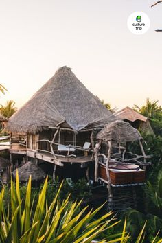 Looking for a spot to rest and relax? Tulum's Azulik Resort is a haven of tranquility, comprised of 48 wooden villas. Book the travel you've missed with Culture Trip. #CultureTrip #SomewhereWonderful #TravelGoodFeelGood #Travel #Mexico #Tulum