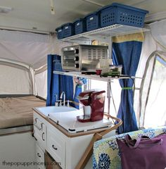 Anne's Pop Up Camper