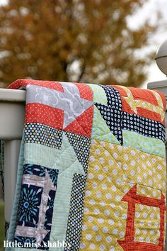 Churn to the Dash Quilt - LMS