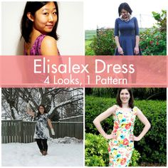 PatternReview Blog > Elisalex Dress: 4 Looks, 1 Pattern