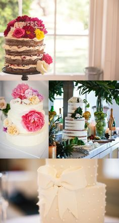I LOVE this little Naked Cake!!!
