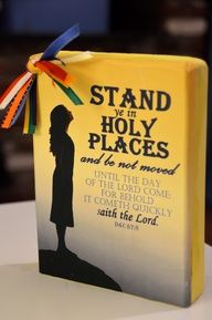 YW Theme craft ideas - could be used at Girls Camp