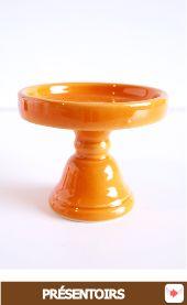 Présentoire cupcakes orange pour #halloween