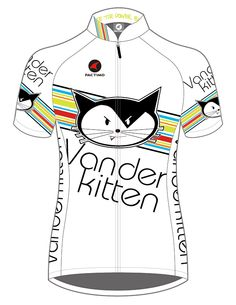 Vanderkitten by Pactimo jerseys are the exact quality, fabrication and fit the pro team wears! We remove the sponsor logos because, hey, you wanna look exactly like a Vanderkitten Pro?  You gotta earn it!