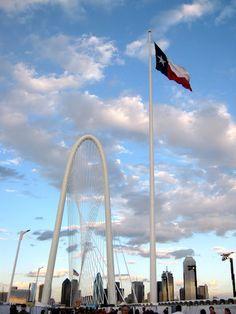 Calatrava Bridge in Dallas, it's almost as good as the Arch