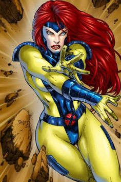 Jean Grey from the X-Men