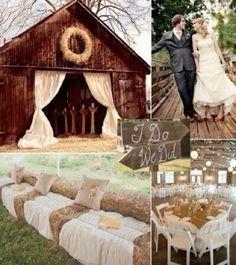 Perfect barn wedding