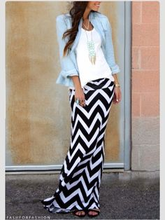 not a fan of chevron..... but this is pretty cute