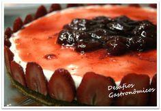 Cheesecake de Morangos!