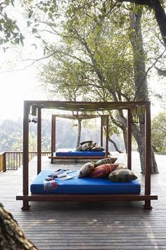 Love these #outdoor beds