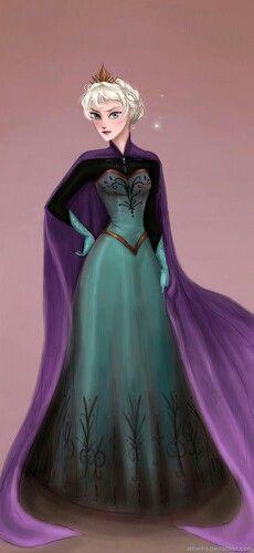 Coronation dress - Elsa