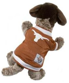 Longhorn Pet Jersey  #cute #puppy #kitten #hookem