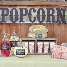 old homes, summer parties, outdoor movie party, popcorn bar, party fun, ideas party, movie nights, summer movies, themed parties