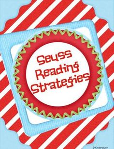 These Seuss Reading Strategy posters are sure to get your students interested in becoming better readers. It will help their comprehension because ...