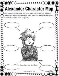 Alexander and the Terrible, Horrible, No Good, Very Bad Day. This is a full day emergency substitute lesson plan bundle, but it can also be used to go with teaching the book.
