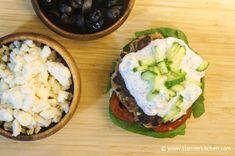 Black Olive and Feta Turkey Burgers   Slender Kitchen