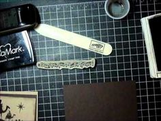 Video tutorial using Stampin' Up! Come to Bethlehem stamp set.