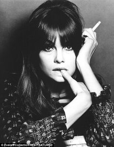 Jean Shrimpton. Remember Yardley's Londonderry Hair Shiner.  Wish they still made it.