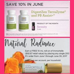 doTERRA June Savings