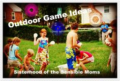 Outdoor game ideas that will take your party from good to great!
