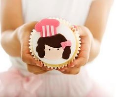 Chef Party Cupcake
