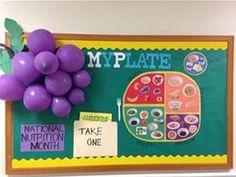 Bulletin boards school cafeteria decorations and nurse bulletin board
