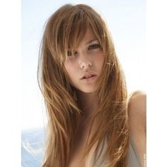 Wispy Bangs Long Hair Styles