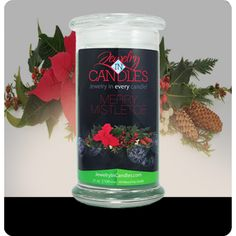 You are bound to love this fragrance, as it fills up your home this season. Mistletoe isn't just for kissing under! A blend of citrus, blue spruce, and frosted cranberries create this perfect holiday scent! Merry Mistletoe. Infused with Fir, Peppermint, and Cedar Leaf essential oils