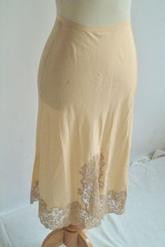 1940s Slip // Heavenly Silk Lingerie // Vintage by dethrosevintage, $45.00