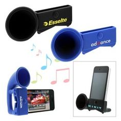 Iphone portable speakers. Most people have the original product and this addition would be greatly appreciated