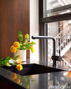 Designing a Modern Kitchen dreams, gowar kitchen, modern black, kitchen design, faucets, hous, sink, black faucet, modern kitchens