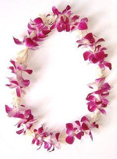 pink flowers, favorit place, graduation leis flower, wedding lei