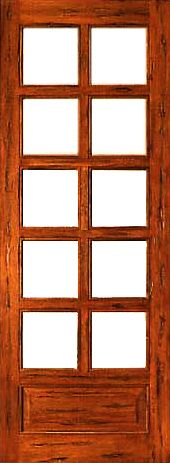 Prehung Slab Chamfer Sticking Insulated low-E Dual Double Glazed Tropical Hardwood  3/4 Lite 10 Lite 1 Panel Interior Single Door Kiln Dried We offer the largest selection of French Doors in various wood species and glass configurations. Arguably the best made French doors in the United States market today. Beautiful true divided French door FSC Certified Brazilian MahoganyAvailable in Knotty Alder, Oak & RusticEngineered stile and rail constructionAvailable in a wide variety of sizesWood has...