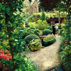 Savannah's garden...SouthernLiving.com