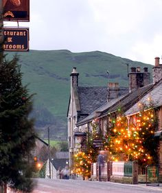 """Best Places to Spend Christmas:   Castleton, England.   Why Go: A tiny stone English village dotted with cheerfully lit Christmas trees would be enough of an allure, but caroling by candlelight inside caves seals this southern town's place on a list of special yuletide travel destinations.    Where to Stay: Just up the road in Hope, the secluded Losehill House Hotel and Spa offers a Christmas package that includes three nights' accommodation (beginning Christmas Eve), meals (including a Christmas feast), and a spa treatment; $820 per person.    Holiday Dinner: The eight-course Christmas Day dinner kicks off with champagne at 1 p.m. and continues with an appetizer of partridge-mushroom soup, langoustine cocktail, or roasted shallot tarte Tatin. Entrée choices include roasted turkey; fillet of John Dory with a Shiraz-hibiscus emulsion, terrine of winter vegetables; and venison loin with celeriac fondant and roasted figs.    Stocking Stuffers: The Blue John Original Craft Shop is a must for snagging a """"Blue John"""" gem—a luminescent purple-orange stone—found only in two of Castleton's famed caverns."""