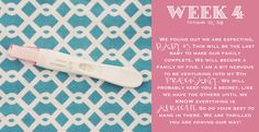 The Johnson's Life Online: My Maternity Book... Weeks 4-20...