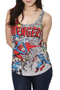 Avengers tank