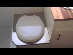 Homemade Composting Toilet (in rv) Update