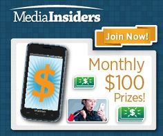 MEDIA INSIDERS PANEL $$ Now Accepting Applications!