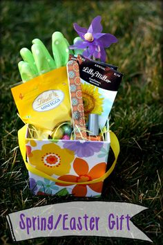 holiday, gift baskets, thought gift, gift basket ideas, girlfriend, thoughtful gifts, diy gifts, spring basket, gift idea