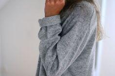Cozy sweatshirts.
