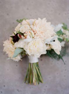 dahlia, peony, rose bouquet