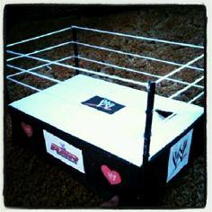 WWE boys valentines box