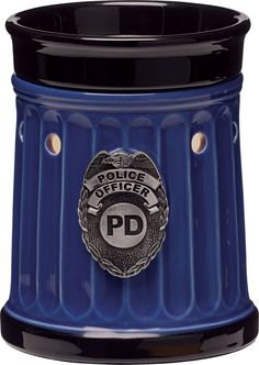 police officer, gift, heroes, the police, metals, firefighters, scentsi warmer, fire department, polic offic